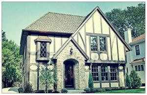 Жизнерадостные дома эдвардианской архитектуры