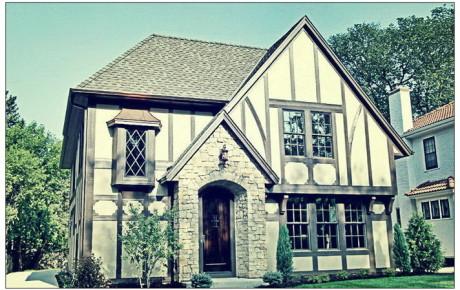 пример дома в эдвардианском стиле