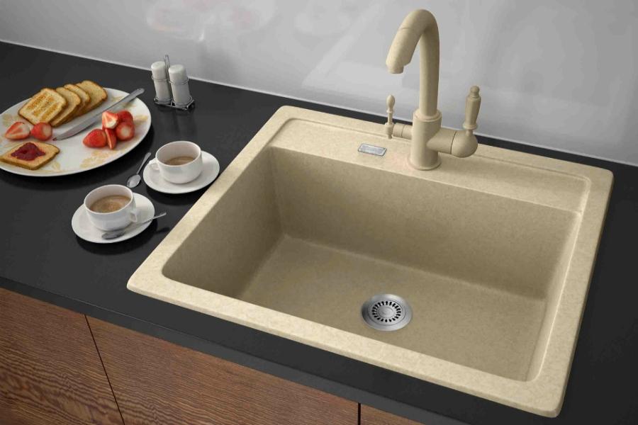 Оновити кухню допоможуть мийки зі штучного каменю