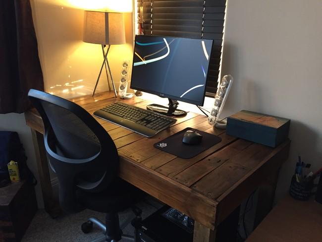 Как самому сделать компьютерные столы своими руками 47