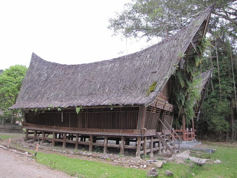 Doma na svayakh v Indonezii
