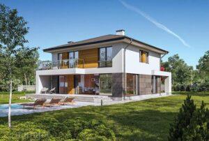 Розміри вікон в сучасних проектах будинків