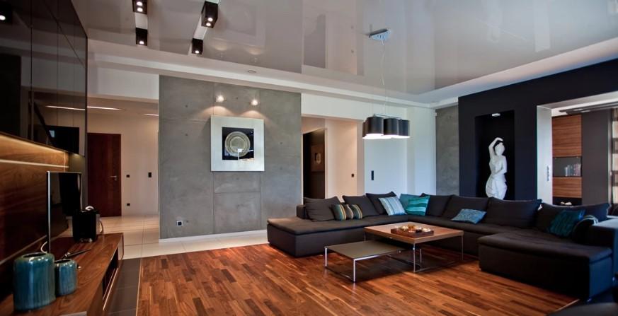 Темная мебель в гостиной — какой цвет стен подходит?