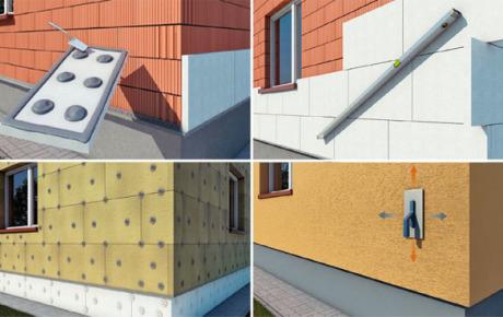 Фотоинструкция по утеплению фасадов