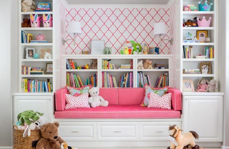 дизайн дитячої кімнати-ліжко-шафа