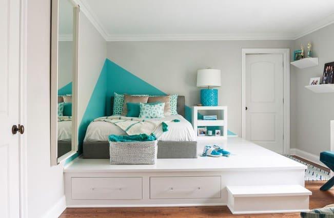 Дизайн детской комнаты - кровати
