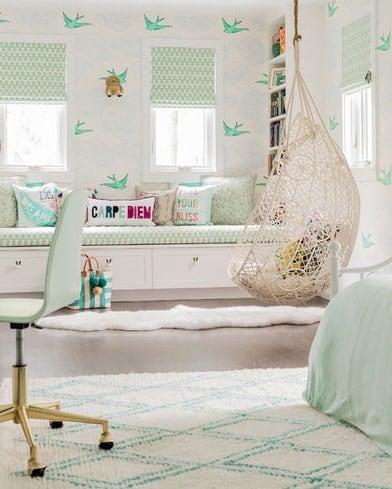 Дизайн детской комнаты -все в светлых тонах