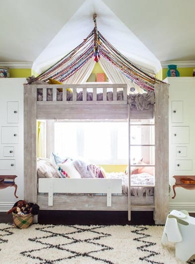 дизайн дитячої кімнати-двоярусне ліжко