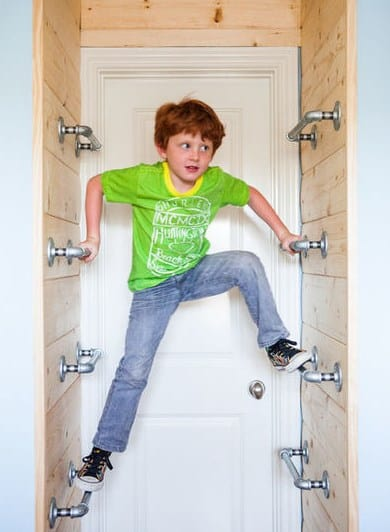 Дизайн детской комнаты - лазилка