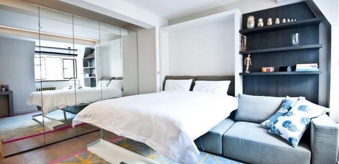 dizayn malenkoy spalni 009 700x340 - Дизайн маленької спальні