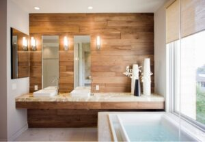 5 альтернатив настінній плитці у ванній кімнаті