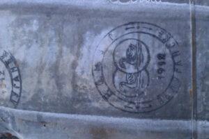Друк заводу виробника оцинкованої сталі на фальцевой покрівлі