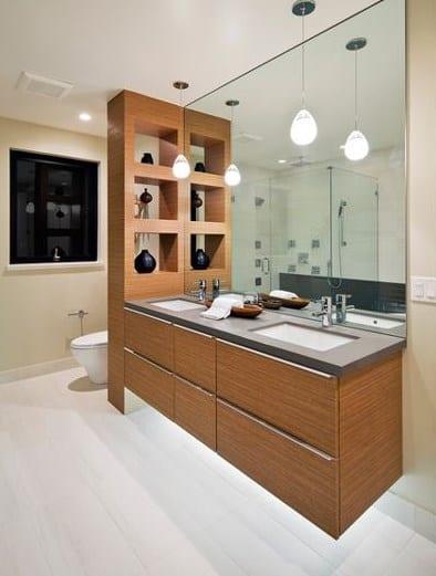 пример как отделить туалет от ванны