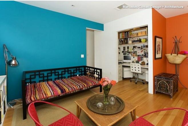 8 потрясающих сочетаний цвета стен в интерьере квартиры