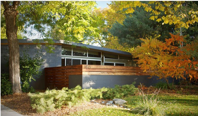 21 прекрасный дом в осенних тонах (фото)