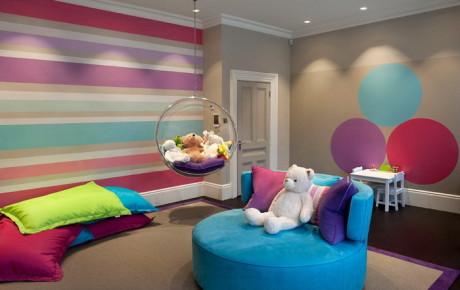 пример дизайна детской комнаты