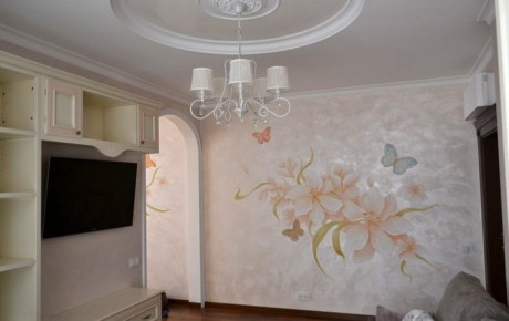Роспись стен | Бабочки