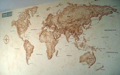 Роспись стен | Карта