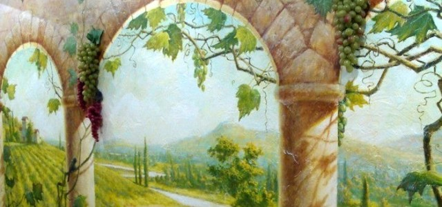 Роспись стен | Лоза