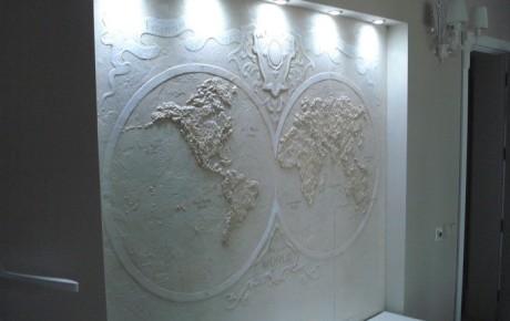 Роспись стен | Полушария