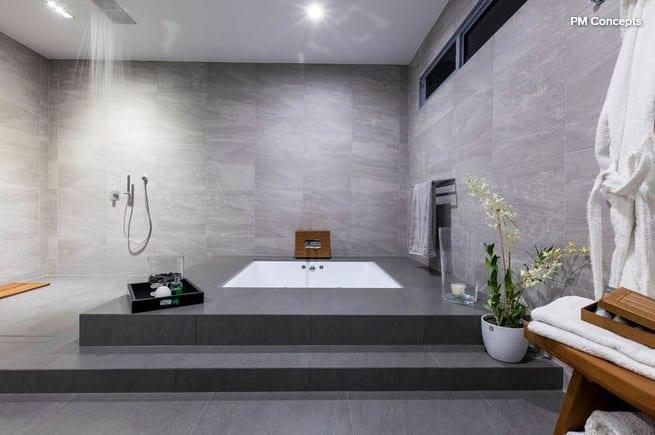 Дизайн ванной комнаты: Сочетание различных цветов (цветовые схемы)