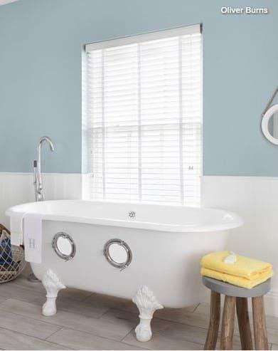 Сочетание различных цветов (цветовые схемы) в дизайне интерьера ванной комнаты