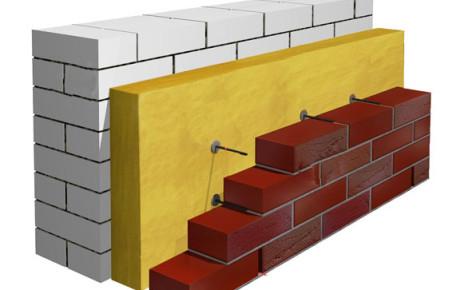 Схема утепления дома внутри стен